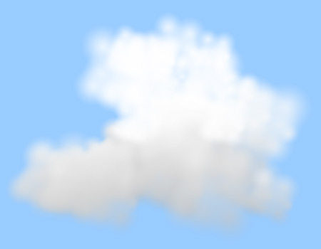 Nimbus-rendered cloud